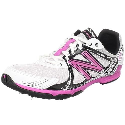 18ae67e2a1df New Balance Women's WRX507CP Ceramic Cross Country Running Spike,White/Pink,8  B