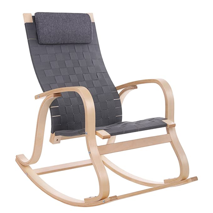 Review SONGMICS Rocking Glider/Relax Lounge