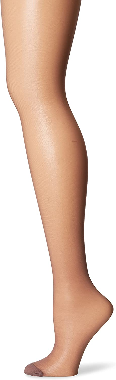 Hanes Womens Control Top Reinforced Toe Silk Reflections Panty Hose