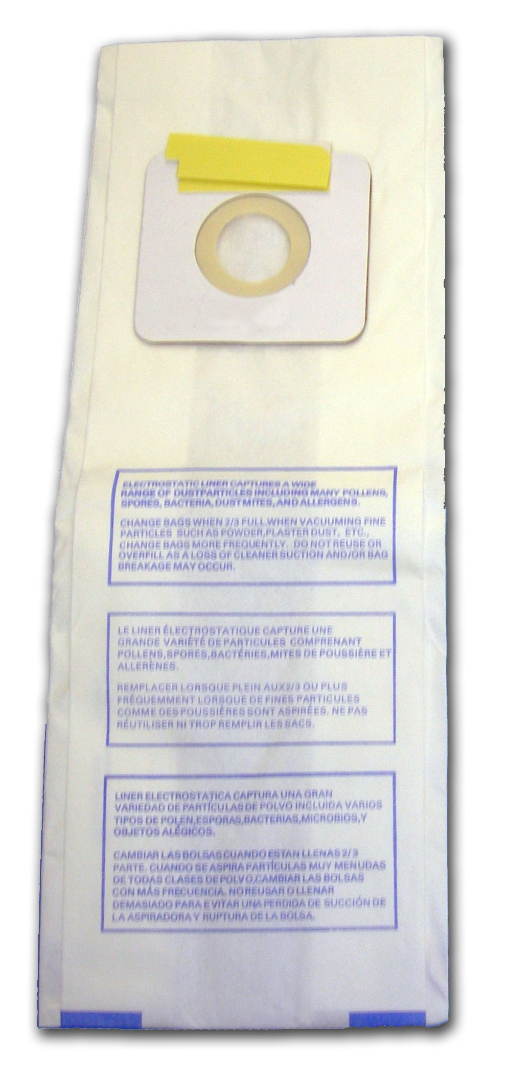 EnviroCare Replacement Vacuum bags for Panasonic Types U, U-3, U-6-18 bags