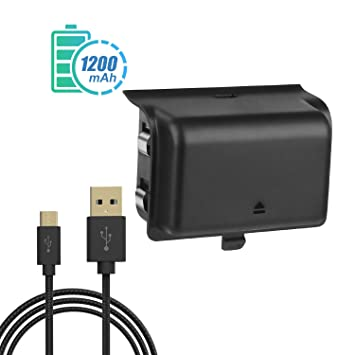 VOGEK Xbox Charger Station Xbox One Charging Dock Xbox Wireless Controller Charger Interior Negro cargador de ...