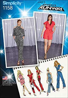 product image for Simplicity Patterns US1158D5 Misses Project Runway Jumpsuits, D5 (4-6-8-10-12)