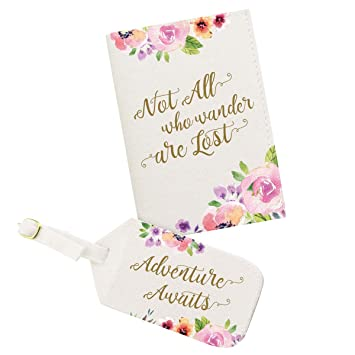 lillian rose az400005 ad adventure passport cover luggage tag off