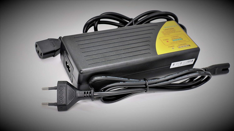 36v Cargador de Bicicleta/Cargador de bateria de 36v/Cargador 36v baterias de Plomo/Cargador de Patinete 36v/Cargador de Hoverboard 36v Cargador de ...