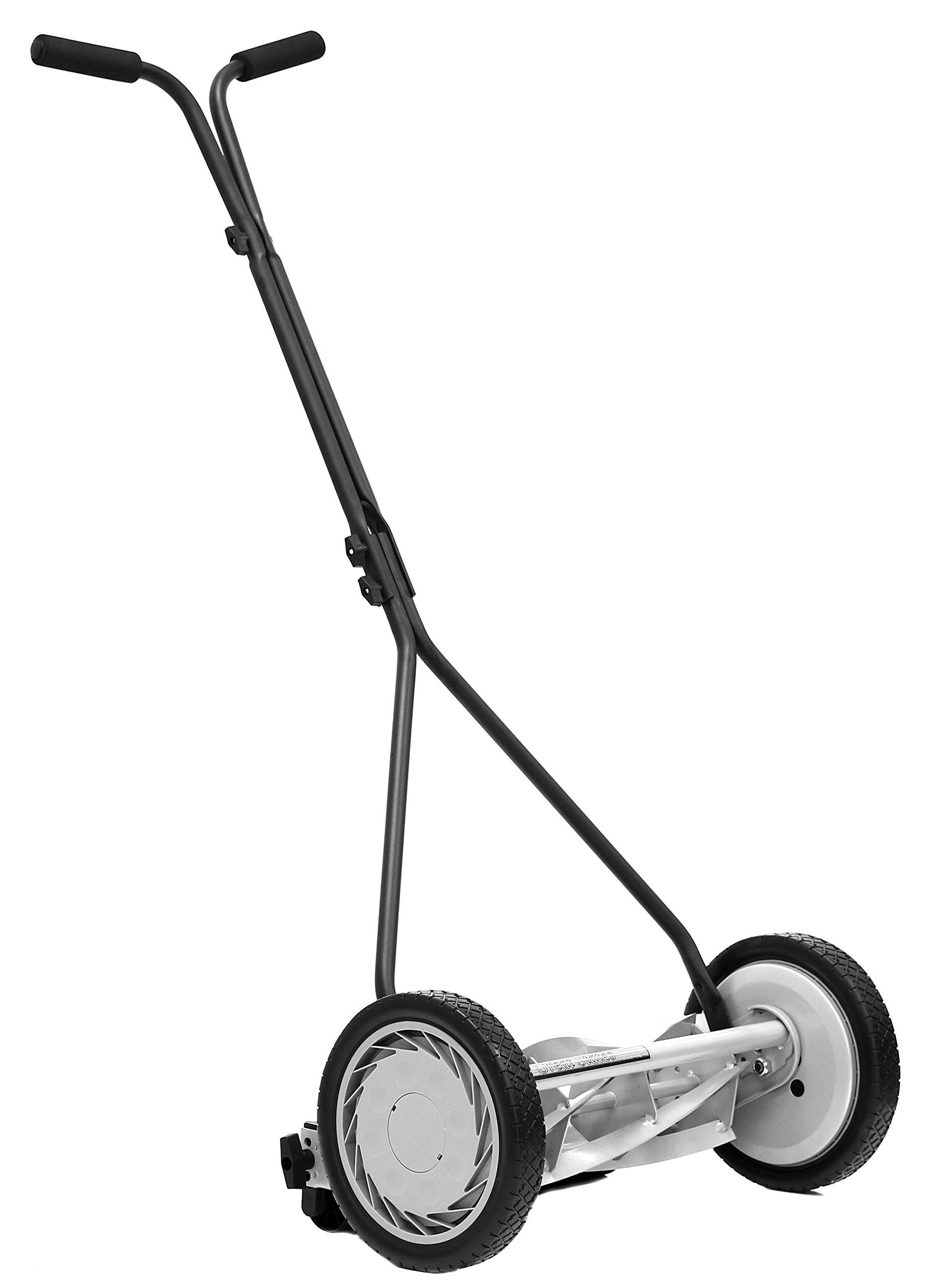 Great States 415-16 16-Inch, 5-Blade Push Reel Lawn Mower, 16-Inch, 5-Blade, Silver by Great States