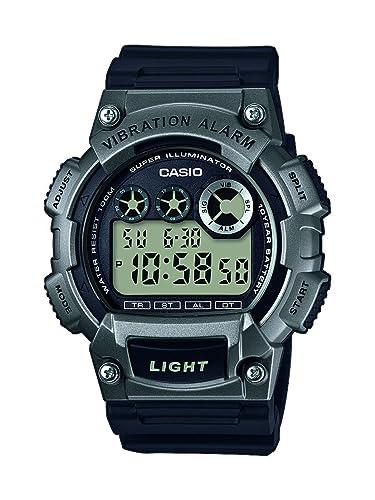 Casio Reloj Digital para Hombre de Cuarzo con Correa en Plástico W-735H-1A3VEF