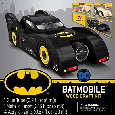 MasterPieces Batman - Batmobile Wood Paint Set: Toys & Games