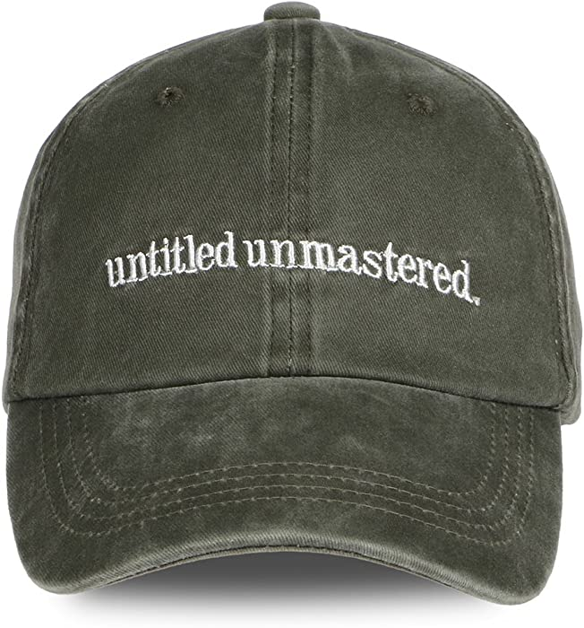 6d3b33b94 Himozoo Washed Adjustable Cotton Baseball Cap Unisex Untitled ...