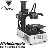 2018 última tevo Michelangelo 3d impresora Impr esora 3d montado Impresora 3d Kit completo Marco de Aluminio…
