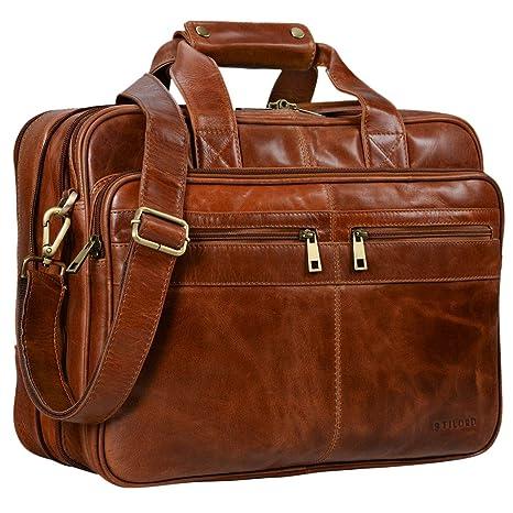 STILORD  Alexander  Borsa da lavoro in pelle uomo donna Grande borsa porta  documenti e 5ce178a3f92