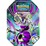 2016 Pokemon Trading Cards Best of EX Tins featuring Hoopa Collector Tin