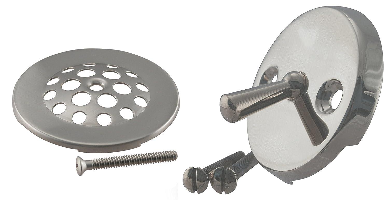 Westbrass D323-20G-07 Beehive Bath Drain Plug, Satin Nickel ...