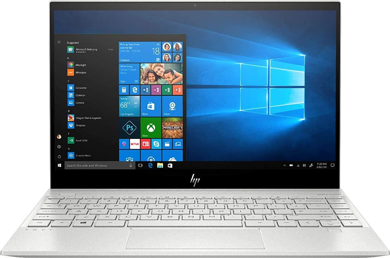 "2020 HP Envy 13.3"" 4K Ultra HD Touchscreen Laptop Computer/ 10th Gen Intel Quard-Core i7 1065G7 up to 3.9GHz/ 8GB DDR4/ 2TB PCIe SSD/ Online Class Ready/ Windows 10/ iPuzzle External DVD Drive"