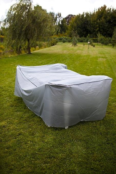 Deluxe Schutzhülle Abdeckhaube Überzug für Sitzgruppen Gartenmöbel 200 x 95 cm