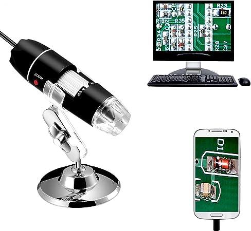 Jiusion 40 To 1000 Magnifier Microscope Endoscope 2mp Camera Photo