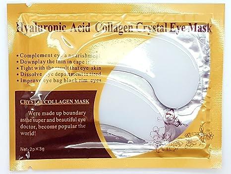 Palestren - 10 pares de máscaras de colágeno para ojos, antienvejecimiento