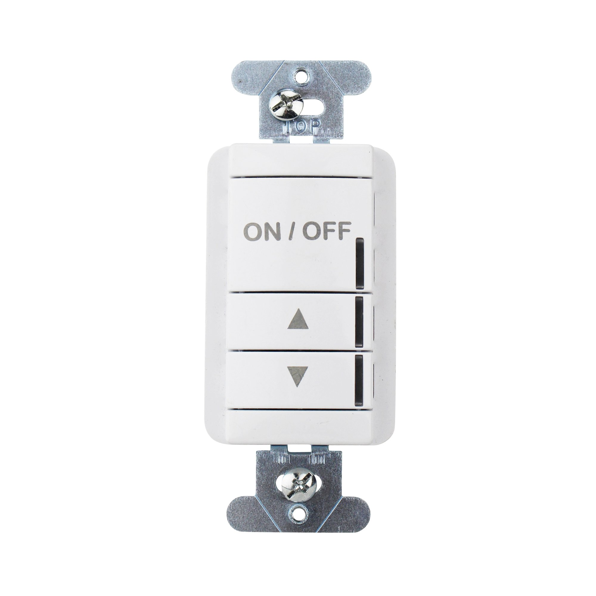 Sensor Switch NPODM-DX-WH nLight Push Button WallPod Dimming Switch, White