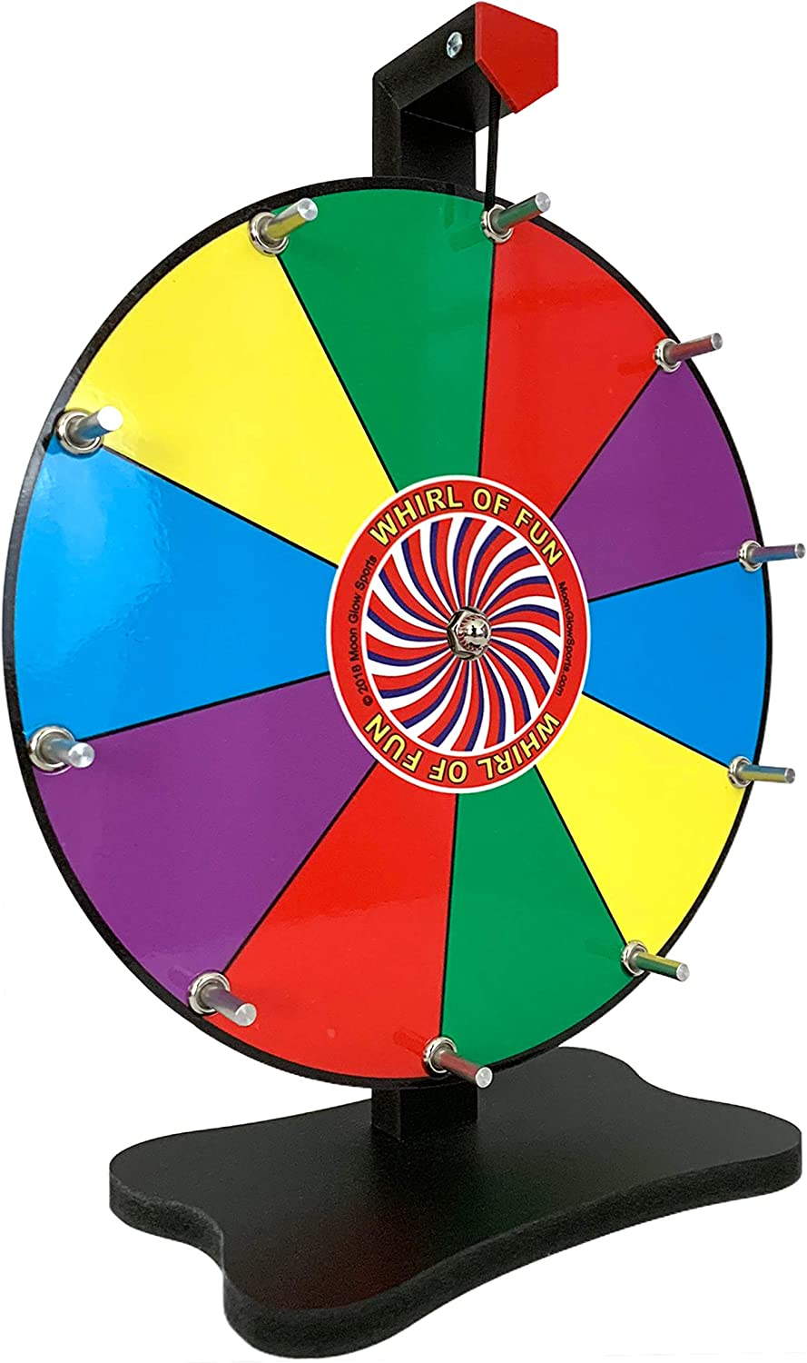 Moon Glow deportes 12 inch premio wheel-tabletop color – Rueda ...