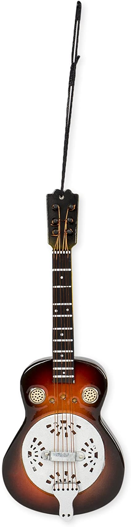 """5/"""" Tall by Broadway Gifts Realistic Classic Guitar Christmas Ornament NIB"""