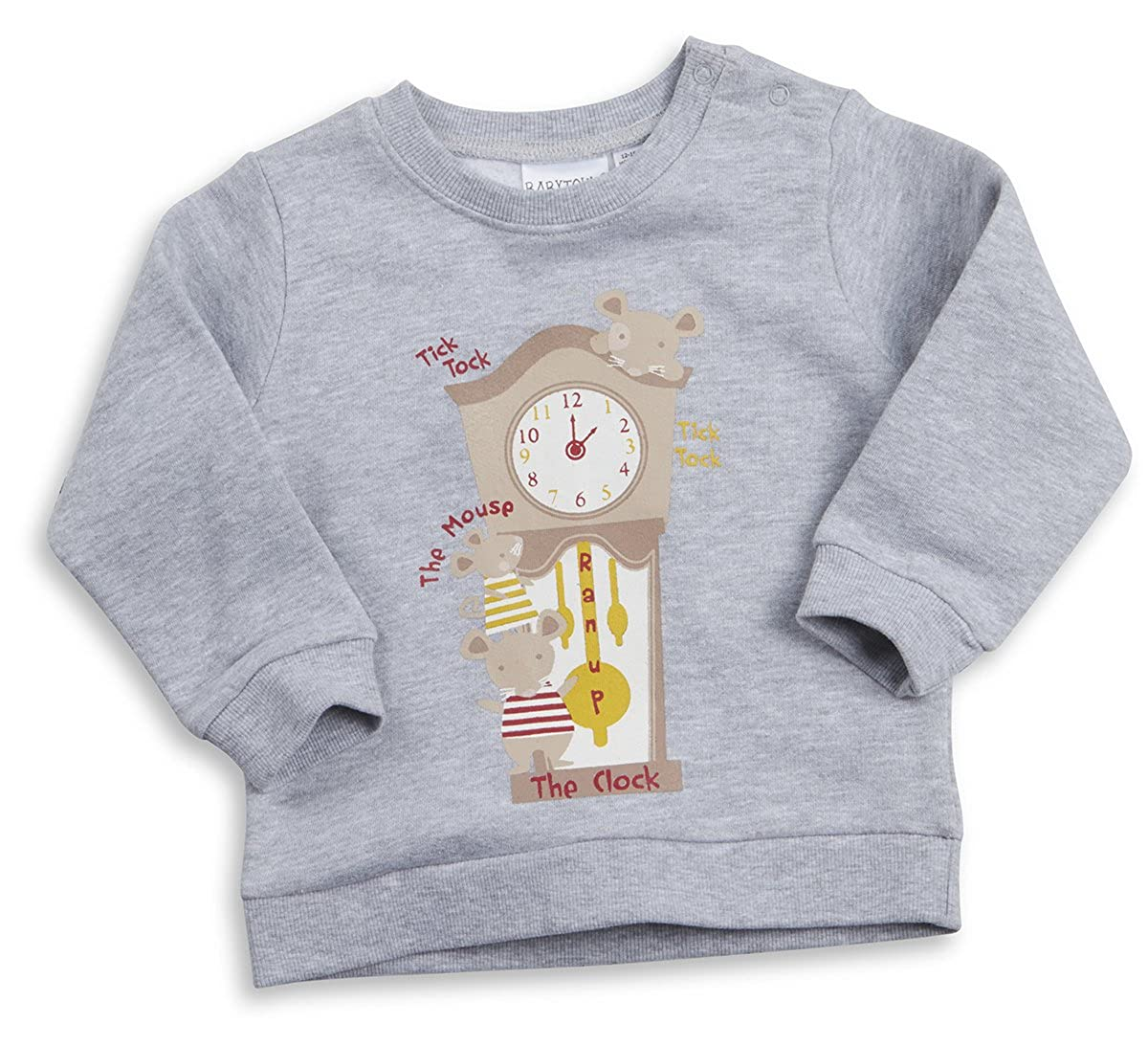 Ages 9-24m Nursery Tops Babytown Unisex Babies Long Sleeve Pull Over Sweater