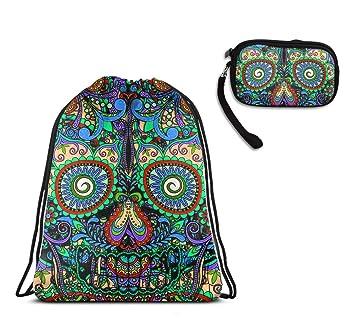 Amazon.com: Sugar Mexicano Skulls Cordón Gimnasio Deporte ...