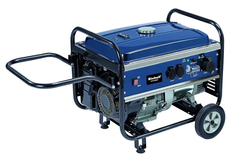 Einhell Benzin Stromerzeuger BT-PG 5500/2 D (3600 W Dauerleistung ...