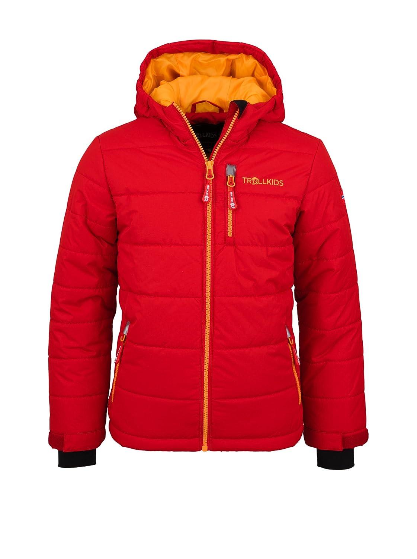 Rouge - rouge   Sonnenjaune  TrollEnfants Veste de ski enfant Hemsedal