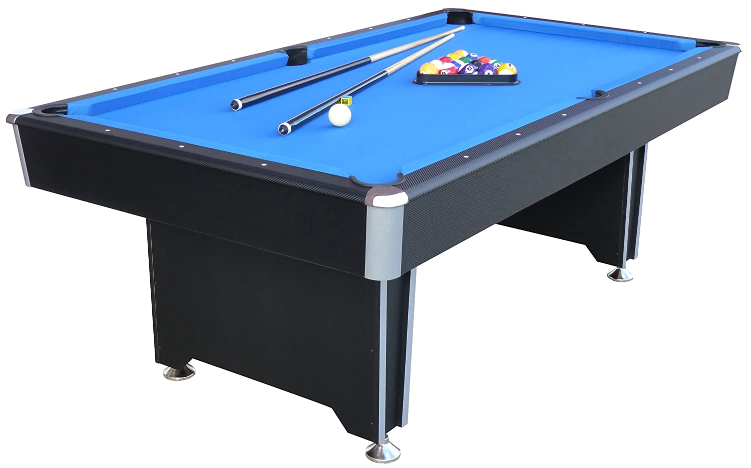 Awesome Mightymast Leisure 7ft CALLISTO Professional Deluxe American Pool Table  With Blue Cloth U0026 All Accessories: Amazon.co.uk: Sports U0026 Outdoors