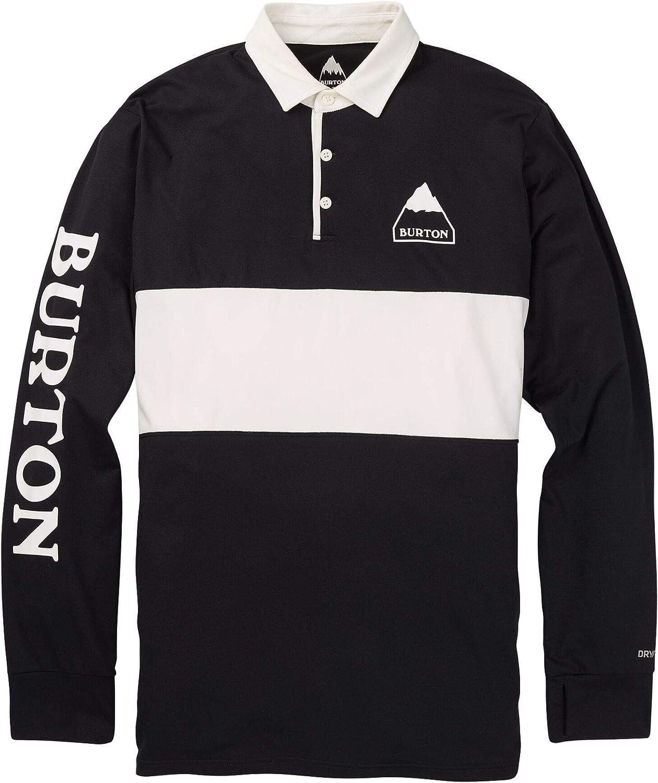 Burton Midweight Rugby Camiseta Termica, Hombre: Amazon.es: Ropa y accesorios