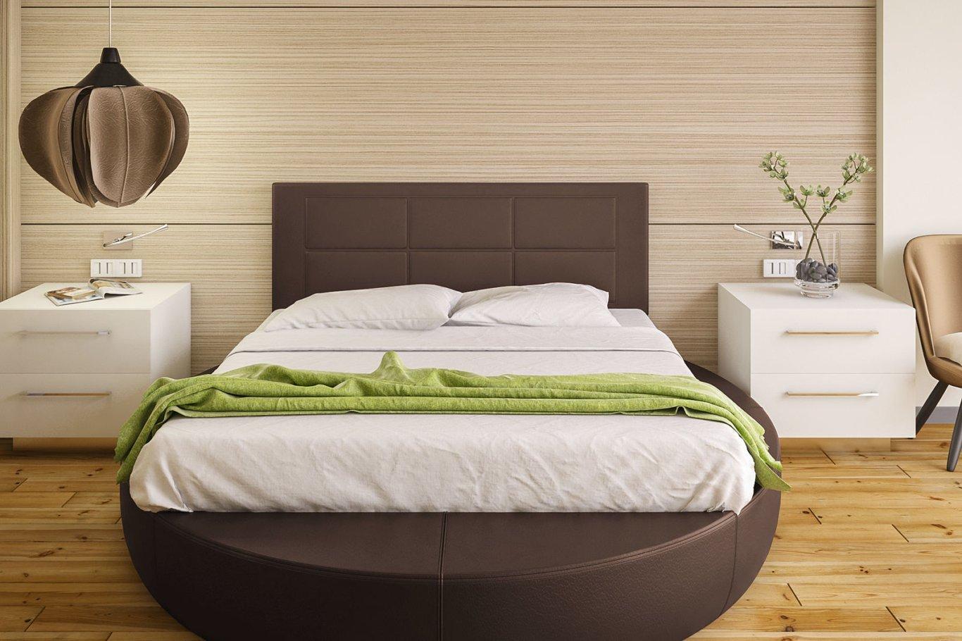 Hogar24-Cabecero Cama tapizado 155 x 55 x 3,0 cm, válido para Cama ...