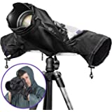 Altura Photo Professional Rain Cover for Large Canon Nikon DSLR Cameras