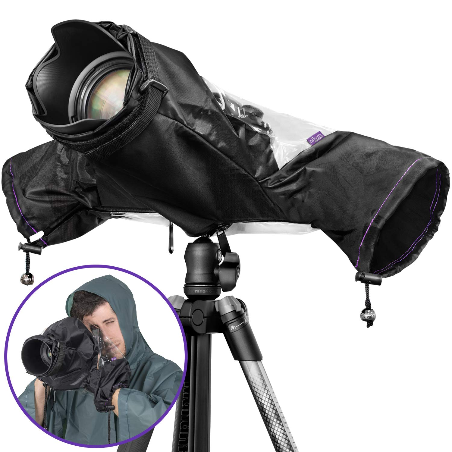 Altura Photo Professional Rain Cover for Large DSLR Cameras KZ0008