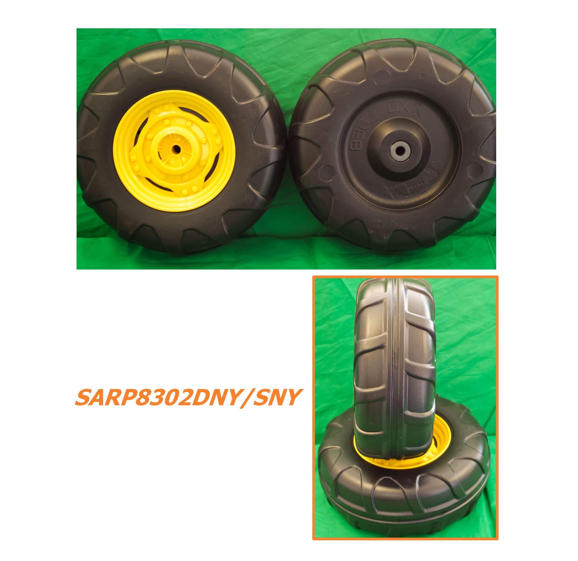 Last US Stock Pair OEM Genuine J0hn Deere Perego Gator XUV Front Wheel Tires Pack Left+Right New