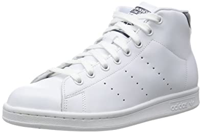 Blanc Smith Haute Stan Mid Adidas Originals Chaussures 4q1OSq8w