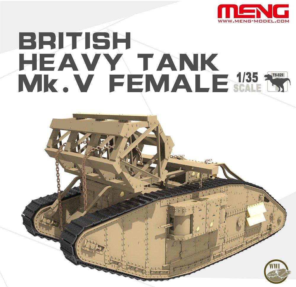 Unbekannt Meng TS de 029 - Maqueta de British Heavy Tank MK ...