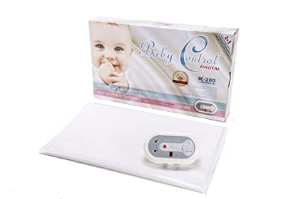 BabyControl Digital BC-200 - Monitor Respiración Bebé para Control Ritmo Respiratorio y Apneas +
