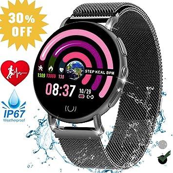 Amazon.com : Jupitaz Smart Watch for Women, IP67 Waterproof ...