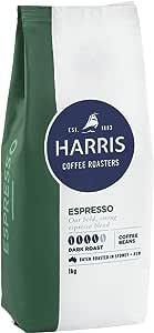 Harris Espresso Whole Coffee Beans - Roasted in Sydney (1kg x 3 Packs)