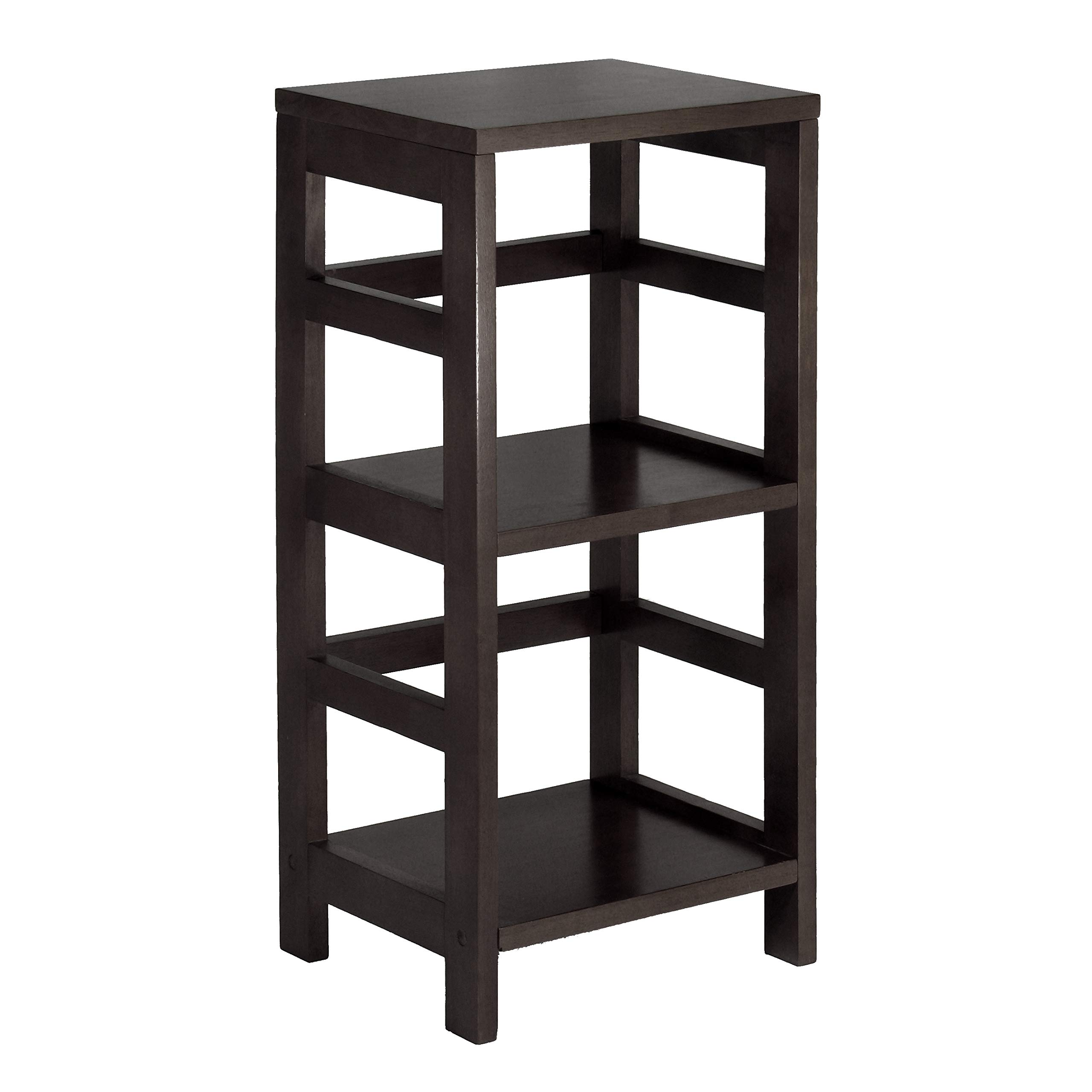 Winsome Wood 92314 Leo Model Name Shelving, Tall, Espresso by Winsome Wood