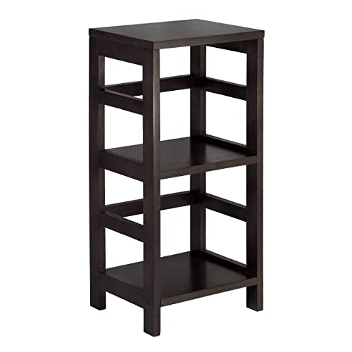 Winsome Wood 92314 Leo Model Name Shelving, Tall, Espresso
