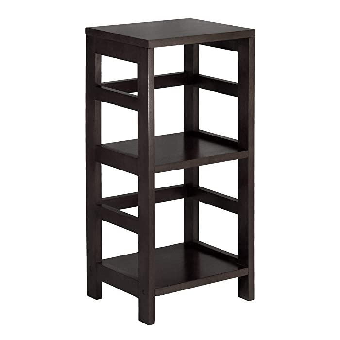 Winsome Wood 92314 Leo model name Shelving Tall Espresso