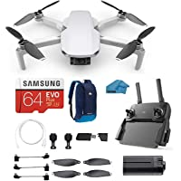 DJI Mavic Mini - Drone FlyCam Quadcopter with 2.7K Camera 3-Axis Gimbal with 64GB Micro SD Card, Reader, Backpack, Must Have Bundle