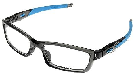 Oakley Glasses Frames Crosslink 8027-12 Grey Smoke Sky Blue  Amazon ... 7928d241551f
