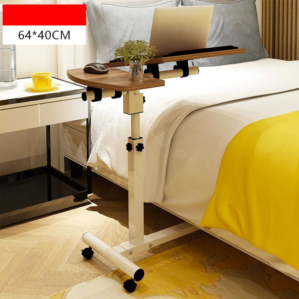 KKY-ENTER ベッドサイドラップトップテーブルホーム学習ポータブルリフティング折りたたみモバイルデスク (色 : カーキ) B07DKCNHN8 カーキ カーキ