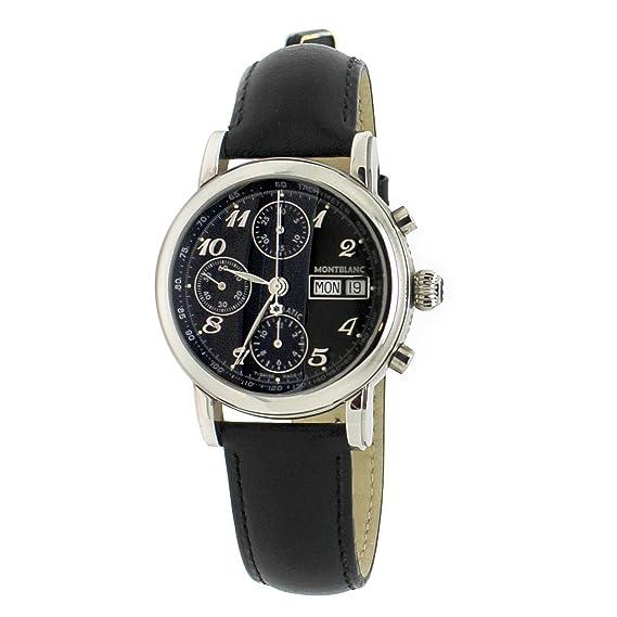 Montblanc Reloj de pulsera hombre cronógrafo automático: Amazon.es: Relojes