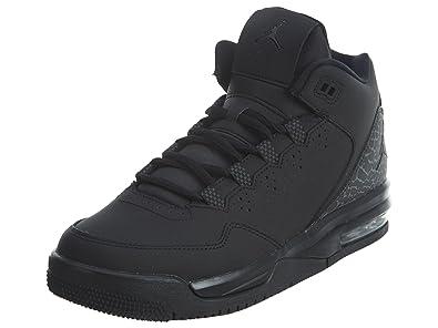 best service ff2c1 79f44 Nike Jordan Kids Jordan Flight Origin 2 BG Black/Black/Dark Grey Basketball  Shoe 5.5 Kids US