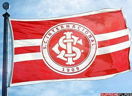 Sportclub Internacional Flagge Bandeira 91 X 152 Cm Inter Porto Alegre Brasilien Amazon De Sport Freizeit