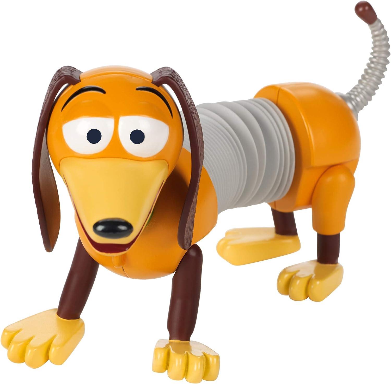 Mattel- Disney Toy Story 4-Figura básica Slinky, Juguetes niños +3 años GGX37, Multicolor