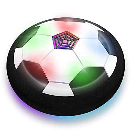 Toyk Boy Toys - LED Hover Soccer Ball - Air Power Training Ball Playing Football Game