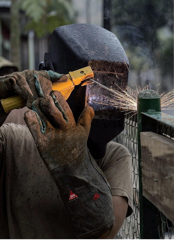 Guantes de soldador Hase Safety Ligeros Peru EN388 EN420 EN407 - Guantes para Trabajos de Soldadura, Tamaño: M: Amazon.es: Bricolaje y herramientas